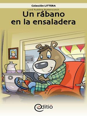 cover image of Un rábano en la ensaladera