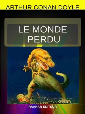 cover image of LE MONDE PERDU