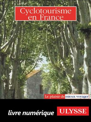 cover image of Cyclotourisme en France