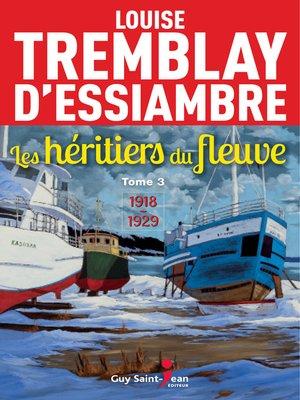cover image of Les héritiers du fleuve, tome 3