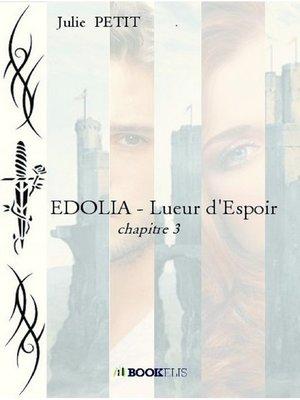 cover image of EDOLIA--Lueur d'Espoir