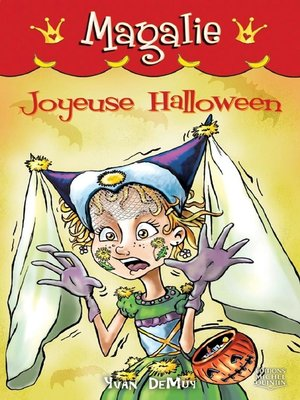 cover image of Magalie 8--Joyeuse Halloween