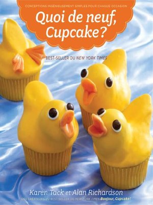 cover image of Quoi de neuf cupcake!