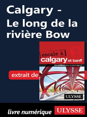 cover image of Calgary--Le long de la rivière Bow