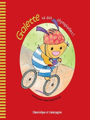 cover image of Galette va aux olympiades!