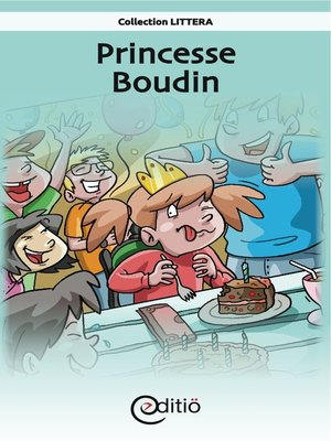 cover image of Princesse Boudin
