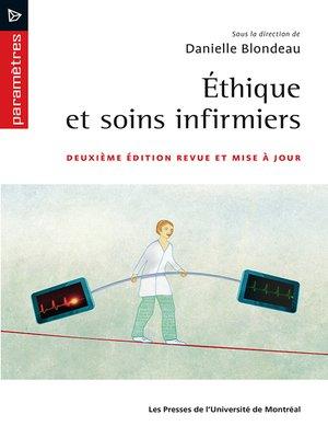 cover image of Éthique et soins infirmiers