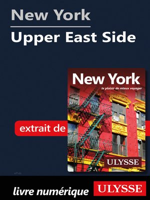 cover image of New York--Upper East Side