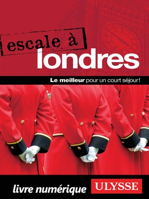 cover image of Escale à Londres