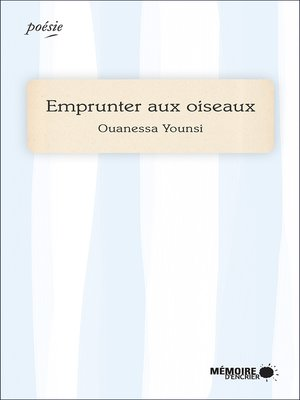 cover image of Emprunter aux oiseaux