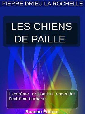 cover image of Les Chiens de paille