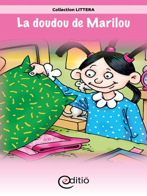 cover image of La doudou de Marilou