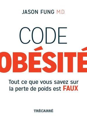 cover image of Code obésité