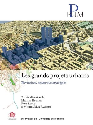 cover image of Les grands projets urbains