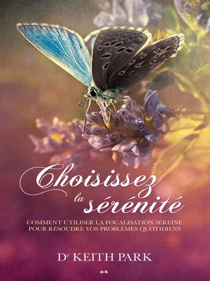 cover image of Choisissez la sérénité