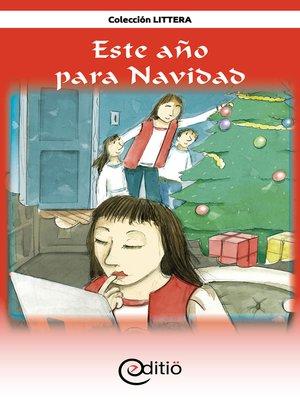 cover image of Este año para Navidad