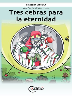 cover image of Tres cebras para la eternidad