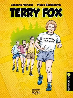 cover image of Connais-tu?--En couleurs 23--Terry Fox