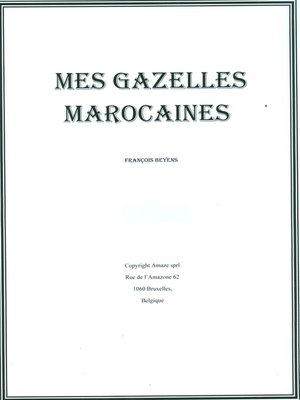 cover image of Mes Gazelles Marocaines
