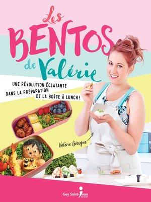 cover image of Les bentos de Valérie