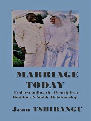 cover image of MARRIAGE TODAY