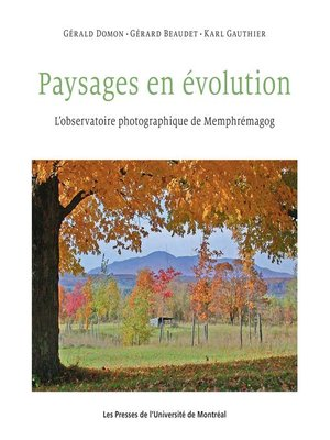 cover image of Paysages en évolution