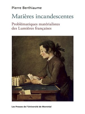 cover image of Matières incandescentes