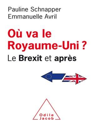 cover image of Où va le Royaume-Uni ?