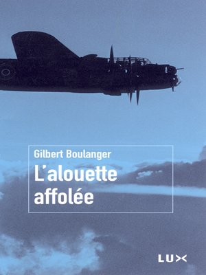 cover image of L'alouette affolée