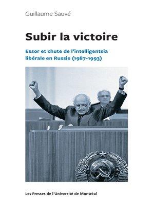 cover image of Subir la victoire