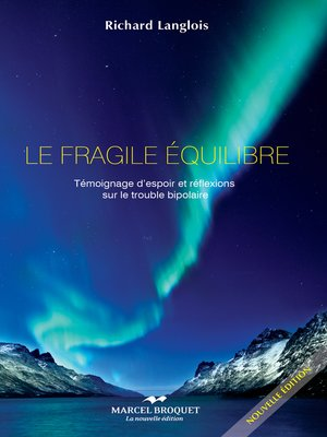 cover image of Le fragile équilibre