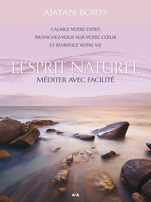 cover image of L'Esprit naturel