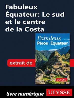 cover image of Fabuleux Équateur