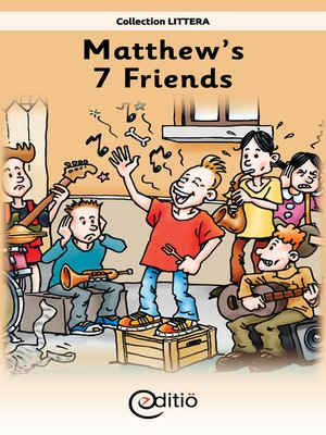 cover image of Matthew's 7 Friends