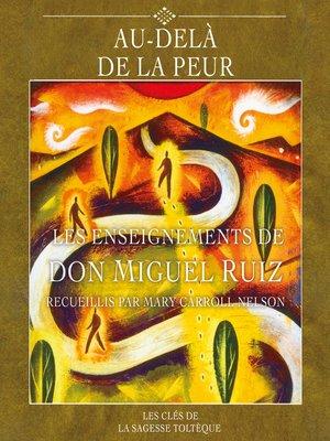 cover image of Au-delà de la peur