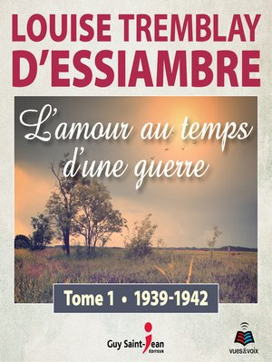 cover image of L'amour au temps d'une guerre