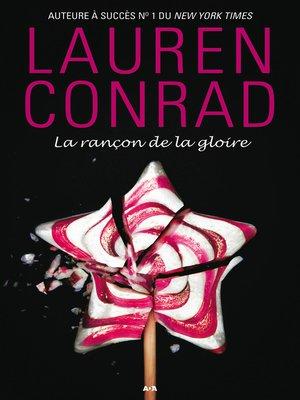 cover image of La rançon de la gloire
