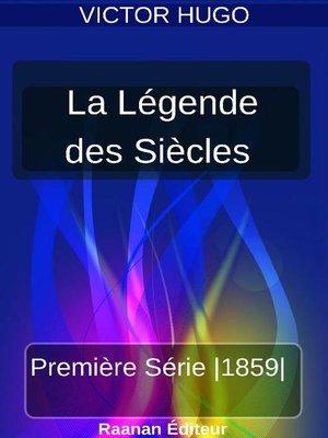 cover image of La Légende des siècles 1