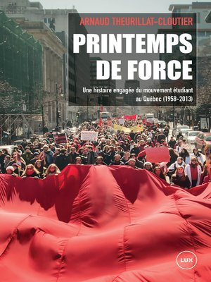 cover image of Printemps de force