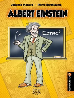 cover image of Connais-tu?--En couleurs 21--Albert Einstein