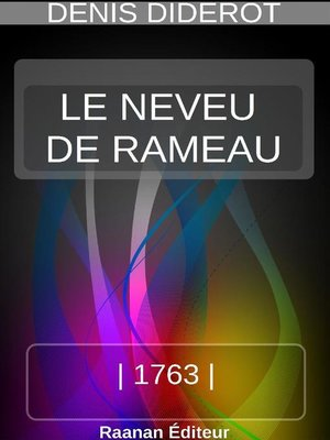 cover image of LE NEVEU DE RAMEAU