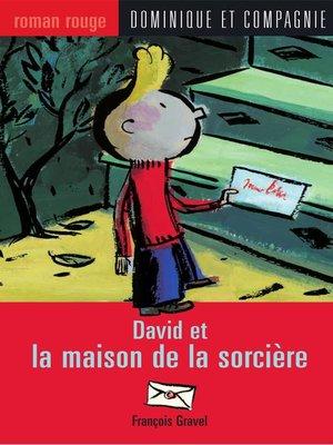 cover image of David et la maison de la sorcière