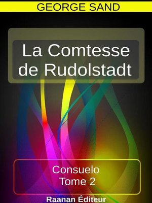 cover image of La Comtesse de Rudolstadt II