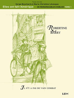 cover image of Robertine Barry