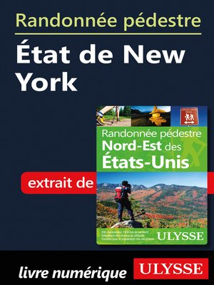 cover image of Randonnée pédestre État de New York