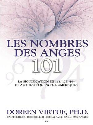 cover image of Les nombres des anges 101