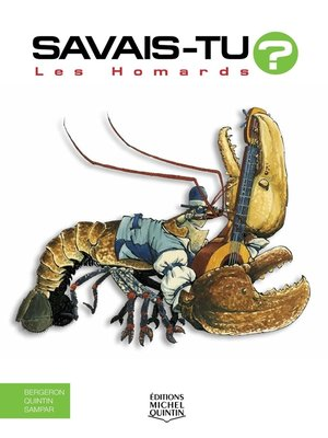 cover image of Savais-tu?--En couleurs 17--Les Homards