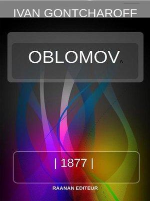 cover image of OBLOMOV