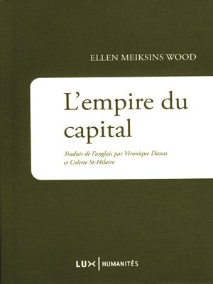 cover image of L'Empire du capital