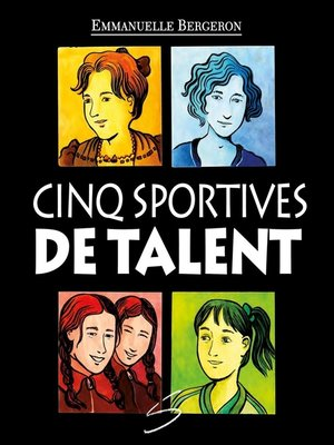 cover image of Cinq sportives de talent